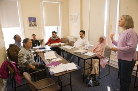 adult to Teaching esl