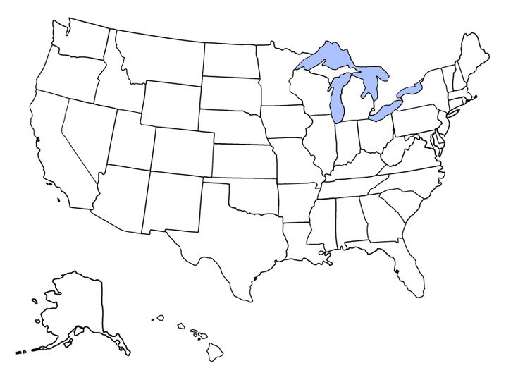 Can You Label All Fifty US States And Capitals So You Think - Blank map of states and capitals us