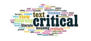 Critical Literacy hystogram