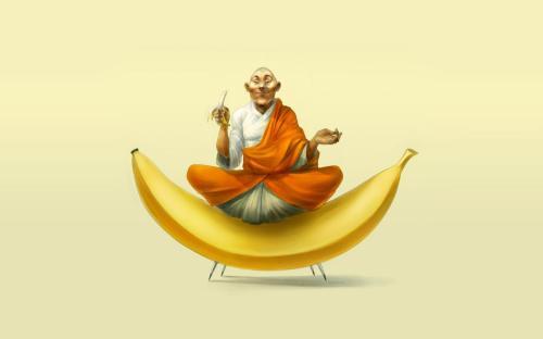 bananas_monk_buddhist_funny_artwork_humor_1920x1200_desktop_1920x1200_hd-wallpaper-164243